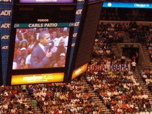 Florida loves Obama