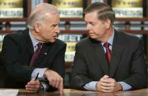 Sens. Biden and Graham