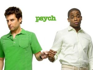 Shawn & Gus from Psych