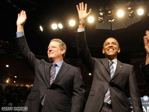 Former VP Gore endorses Obama