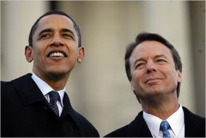 Obama and Edwards