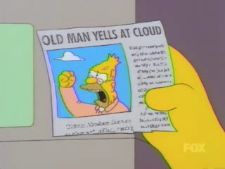 Old McBush yells at cloud