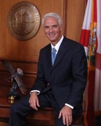 Florida Governor Charlie Crist