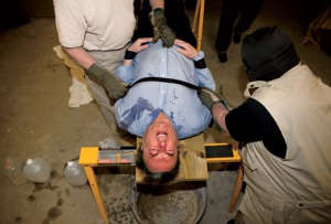 Hitchens Waterboarded