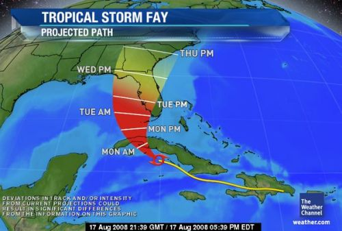 Southeast Florida is out of the cone