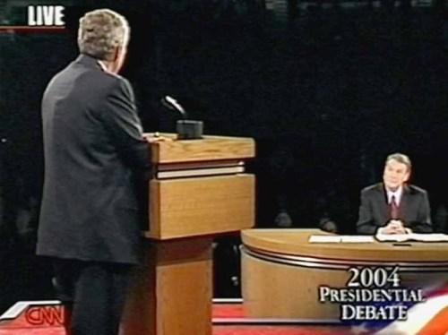Check out Bush's back