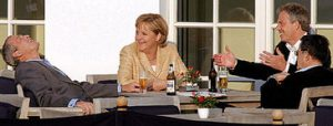 bush-drinking-with-merkel-and-blair-2