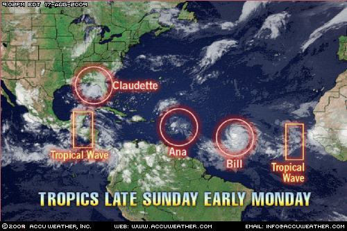 tropics monday 1