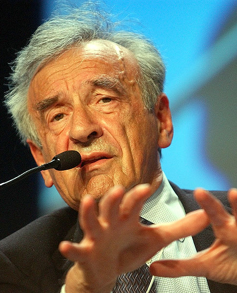 Holocaust survivor Elie Wiesel