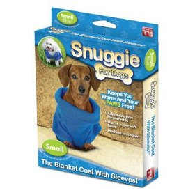 snuggie for dogs box